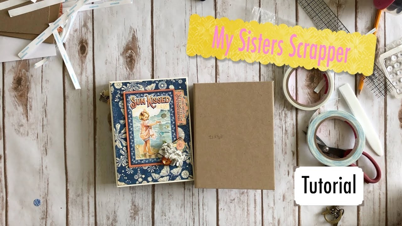 Sun Kissed Pop Up Storage Box with Folio Tutorial