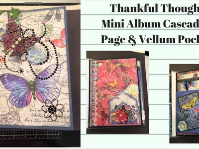 Thankful Thoughts Mini Album Pocket #5 & 6, Last Pages