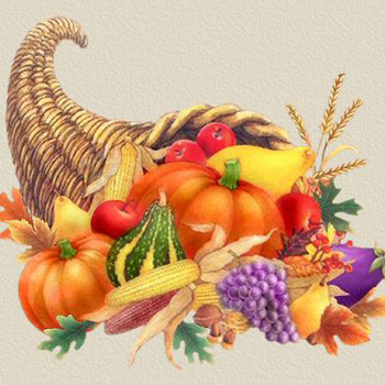Thanksgiving Horn Of PLenty Cross Stitch Pattern***LOOK***
