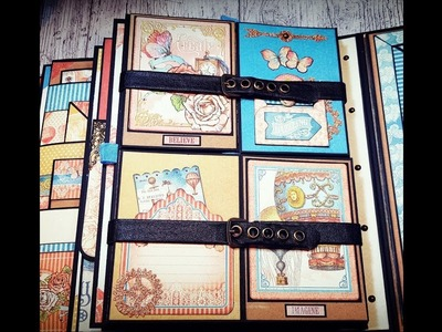 Tutorial 6.9 IMAGINE  Graphic 45  Mini Album 8x10 ( DT CCC )