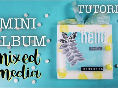 TUTORIAL MINI ÁLBUM CON GELATOS Y CRAYONS │MIXED MEDIA [CO]