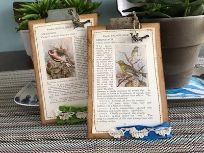 TUTORIAL - Quick & Easy Tags Using Book Pages