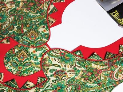 Unique Neck Design for Kurti.Suit.Kameez Cutting and Stitching