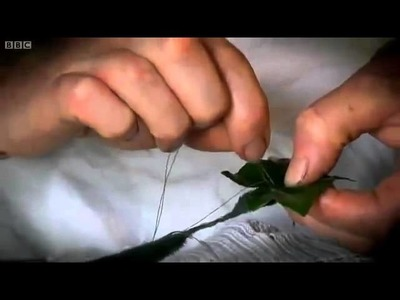 Victorian Christmas  How To Make Ivy Ribbons