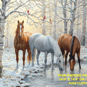 Wild Winter Trio Cross Stitch Pattern***LOOK***  ***INSTANT DOWNLOAD***