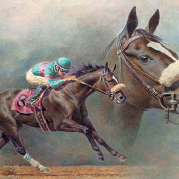 Zenyatta Race Horse Cross Stitch Pattern***LOOK***  ***INSTANT DOWNLOAD***