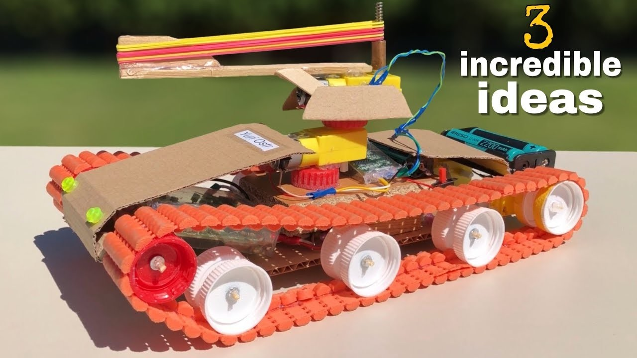 3 incredible ideas and Amazing Homemade Toys