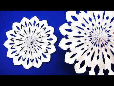 3D Paper Star for Christmas Decor | How to make a 3D Paper Xmas Star DIY Tutorial о7