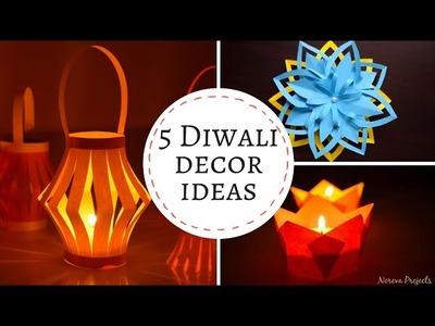 5 Christmas.Diwali Craft Ideas | DIY Christmas Crafts | Christmas HomeDecor Idea #diychristmascrafts