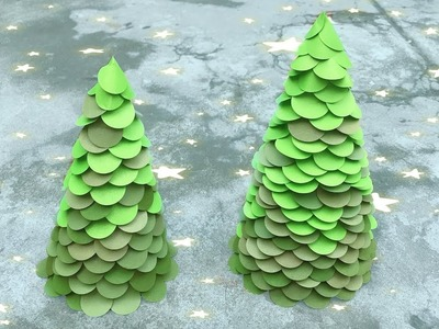 ABC TV | How To Make Christmas Tree Decoration  With Shape Punch - Craft Tutorial