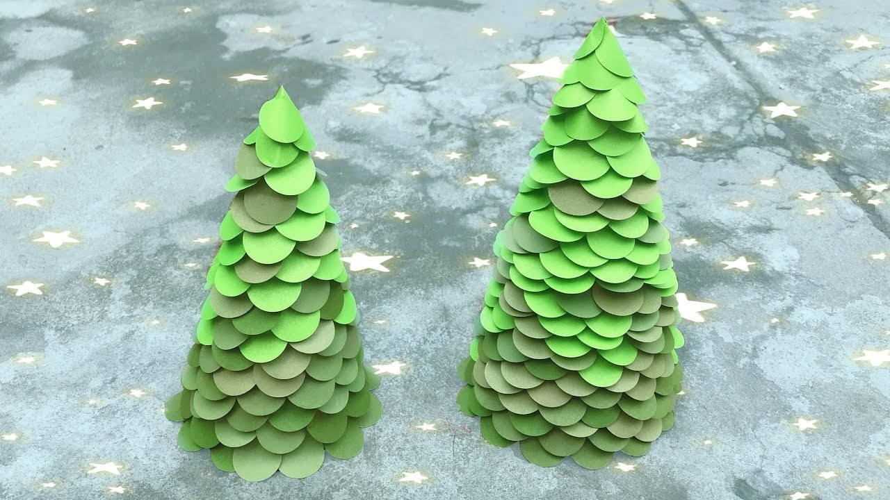 ABC TV   How To Make Christmas Tree Decoration  With Shape Punch - Craft Tutorial