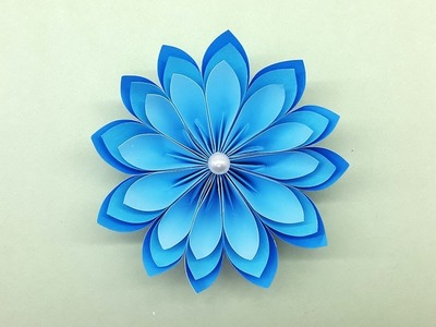 Adorable Paper Flowers | How to make Beautiful Paper Flower | DIY Paper Crafts