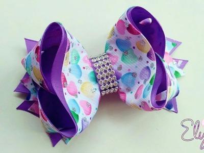 Boutique Victoria Ribbon Bow Tutorial ???? DIY by Elysia Handmade