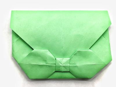 Bow Tie Envelope - DIY Origami Tutorial by Paper Folds - 946