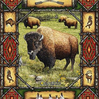 Buffalo Lodge Cross Stitch Pattern***LOOK***