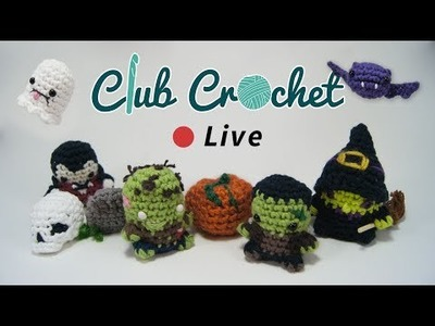 Crocheting Halloween Patterns - Club Crochet Live