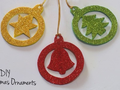 DIY Christmas Ornaments | Christmas Tree Decorations | Holiday Craft Ideas