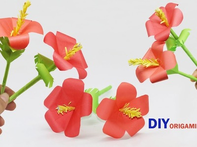 DIY Origami Flower | DIY Paper Crafts Nice Flower | How To Make A Awesome Flower