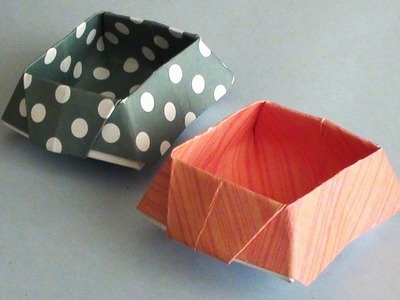 DIY Origami Paper Box | How to make Easy and Simple Paper Crafts