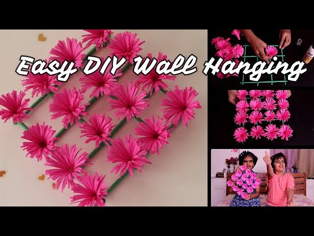 DIY Wall Hanging || easy craft ideas for kids || SaanveeKhushee