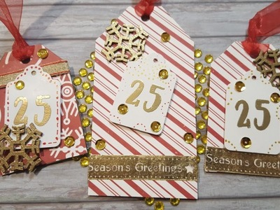 Emboss Like a Boss | Christmas Tags | Maymay Made It Design Team Project