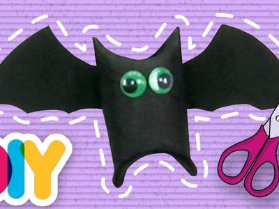 Fast-n-Easy | Bats PAPER ROLL CRAFT | DIY Arts & Crafts for Kids