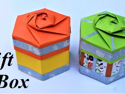 Gift Box | how to make a gift box | gift box ideas | crafts on paper