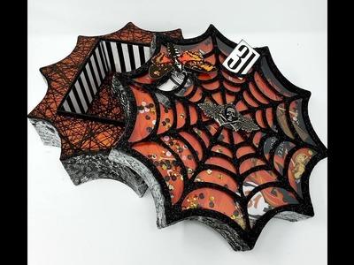 Halloween 2018 Spider Web Box and Album