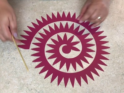 How to Easily Make Rolled Flowers