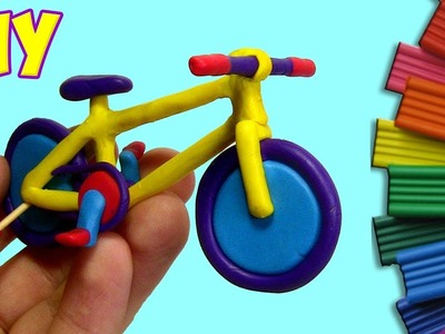 HOW TO MAKE A BICYCLE OUT OF CLAY - TUTORIAL | Play Clay