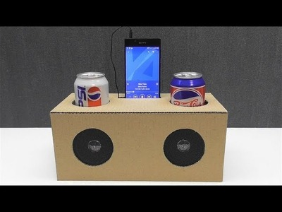 How to make a phone speaker out of cardboard
