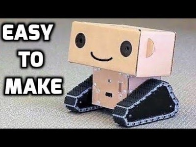 How to Make Cute Cardboard Robot