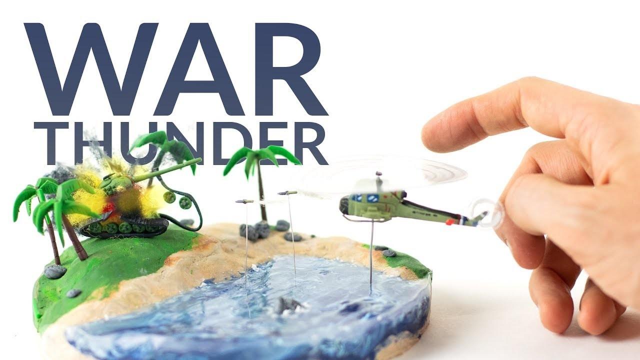 Huey vs. T55 (War Thunder) – Polymer Clay Tutorial