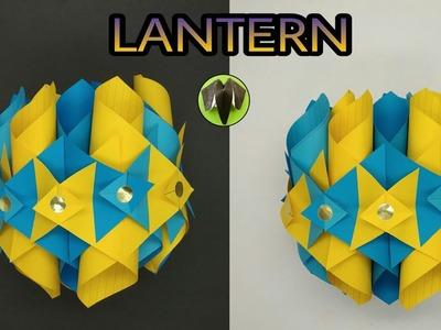 Interlocking Lantern ???? for Diwali | Christmas | Eid - DIY Tutorial by Paper Folds - 940