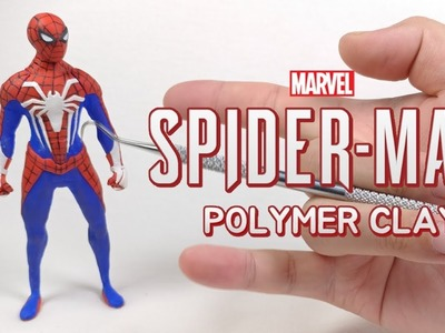 Marvel Spider-Man(2018.PS4) Polymer Clay Figure Making