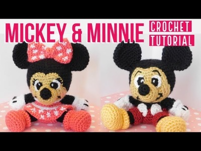 Mickey and Minnie Crochet Tutorial (Part 4)