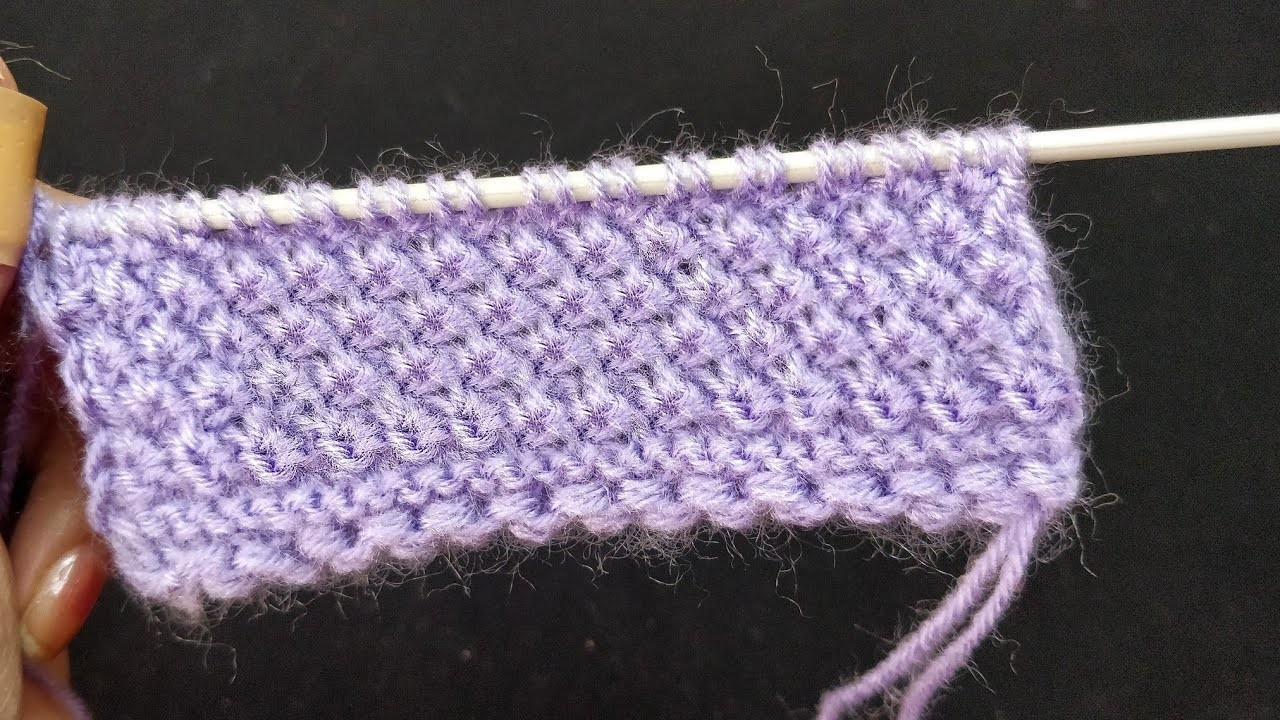 Mini Flower ???????????? All Purpose Knitting Design. One Row Pattern. Very Very Easy and Fascinating.
