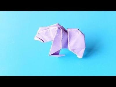 Origami Gorilla ????, Easy Origami Tutorial Seri