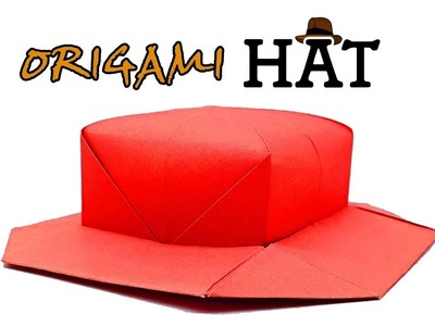 Origami HAT | How to Make Cute Paper Hat | Simple and Easy Folding Tutorial | Origami Arts