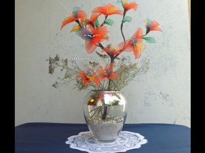 Orquídeas coloridas _ Centro de mesa