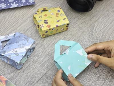 Paper Folding Art (Origami): How to Make Tiny Bag