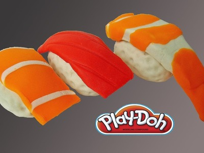 Play Doh Sushi - Learn Your Sushi with Playdoh