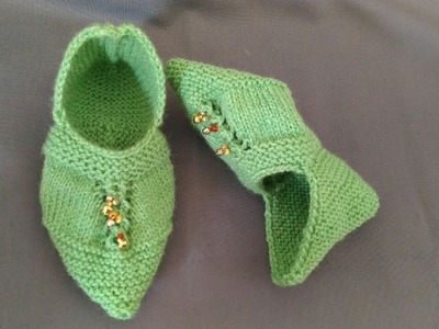 Punjabi jutti knitting [LATEST]