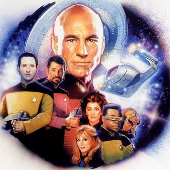 Star Trek The Next Generation Cross Stitch Pattern***LOOK*** ***DOWNLOAD***