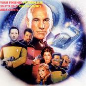Star Trek The Next Generation Cross Stitch Pattern***LOOK***X***INSTANT DOWNLOAD***