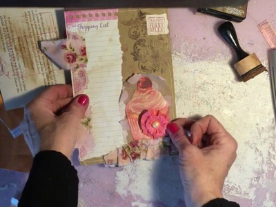 TUTORIAL - Making Paper Flowers for Junk Journals - Actual Junk Journal Series