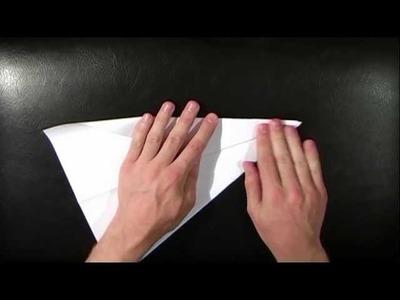 Whisper 64 - Relaxing Paper Plane Folding (ASMR) - kiwiwhispers