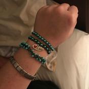 Wire Bead Bracelets