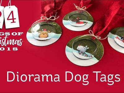 24 Tags of Christmas 2018: #1 Diorama Dog Tags