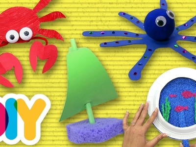 4 Awesome SUMMER CRAFTS you can do with your kid | Fast-n-Easy | DIY Arts & Crafts